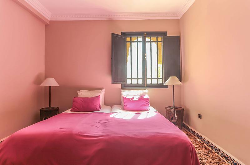 Villa Abalya 22 Twin Bedroom Area | Marrakech, Morocco