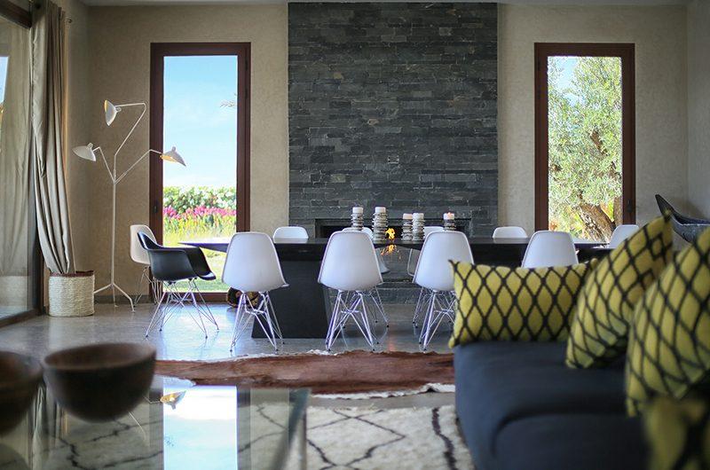 Villa Adnaa Dining Area | Marrakech, Morocco