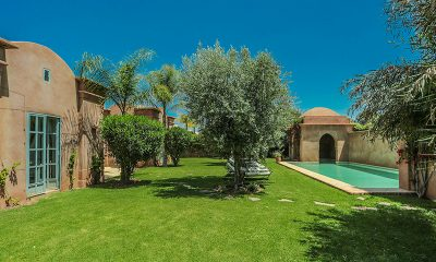 Villa Akhdar 18 Pool and Garden Area | Marrakech, Morocco