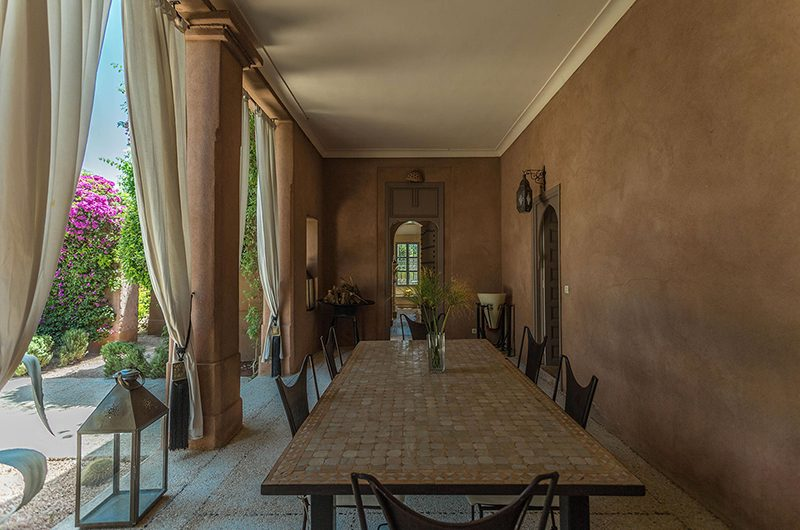 Villa Akhdar 18 Open Plan Dining Area | Marrakech, Morocco
