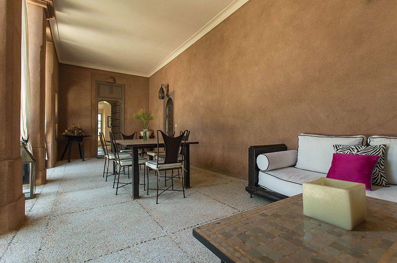 Villa Akhdar 18 Dining Area | Marrakech, Morocco