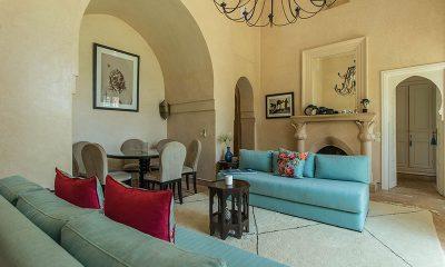 Villa Akhdar 18 Living Area | Marrakech, Morocco