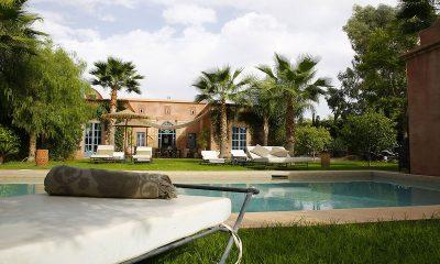 Villa Akhdar 5 Swimming Pool Area | Marrakech, Morocco