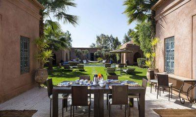 Villa Akhdar 5 Outside Seating | Marrakech, Morocco