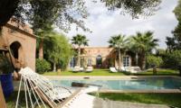 Villa Akhdar 5 Garden Area   Marrakech, Morocco