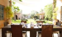 Villa Akhdar 5 Dining Area   Marrakech, Morocco