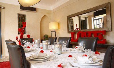Villa Akhdar 5 Dining Table | Marrakech, Morocco