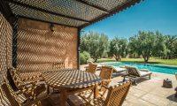 Villa Alouna Swimming Pool Area   Marrakech, Morocco