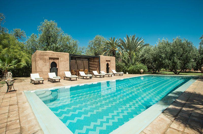 Villa Alouna Swimming Pool   Marrakech, Morocco