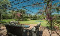 Villa Alouna Garden Area   Marrakech, Morocco