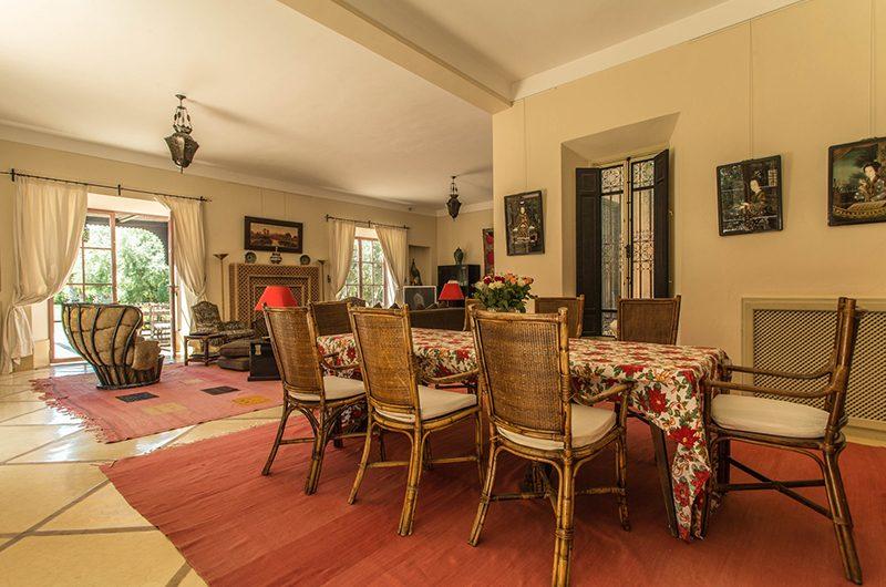 Villa Alouna Dining Area   Marrakech, Morocco