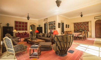 Villa Alouna Living Room | Marrakech, Morocco