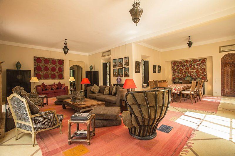 Villa Alouna Living Room   Marrakech, Morocco