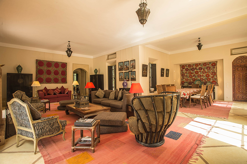 Villa Alouna Living Room | Marrakech, Morocco