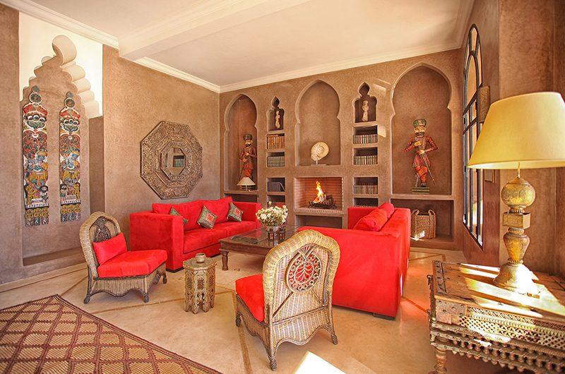 Villa Dar Moira Living Room | Marrakech, Morocco