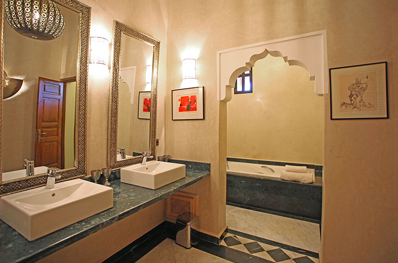 Villa Dar Moira Bathroom | Marrakech, Morocco
