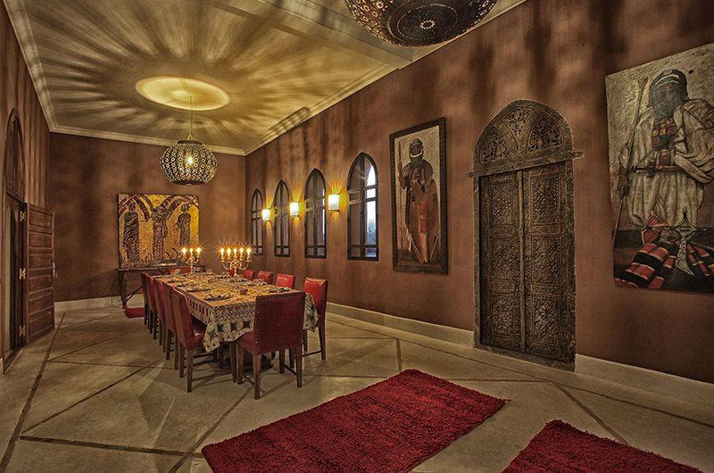Villa Dar Moira Dining Area | Marrakech, Morocco