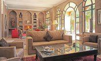 Villa Dar Moira Living Area | Marrakech, Morocco