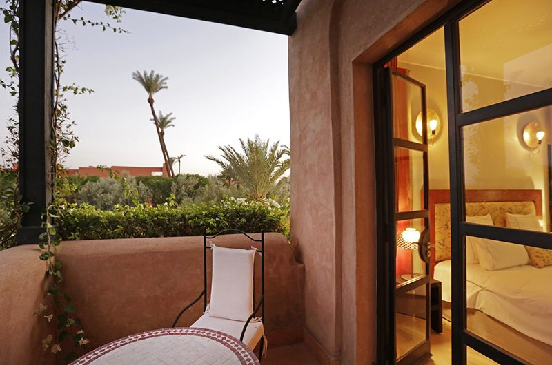 Villa Dar Tifiss Bedroom with Balcony | Marrakech, Morocco