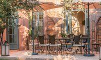 Villa Akhdar 3 Outside Dining Area | Marrakech, Morocco