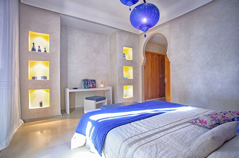 Villa Lankah Bedroom with Study Table | Marrakech, Morocco