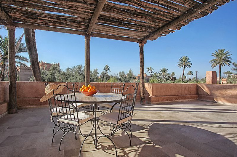 Villa Lankah Outside Dining Area | Marrakech, Morocco