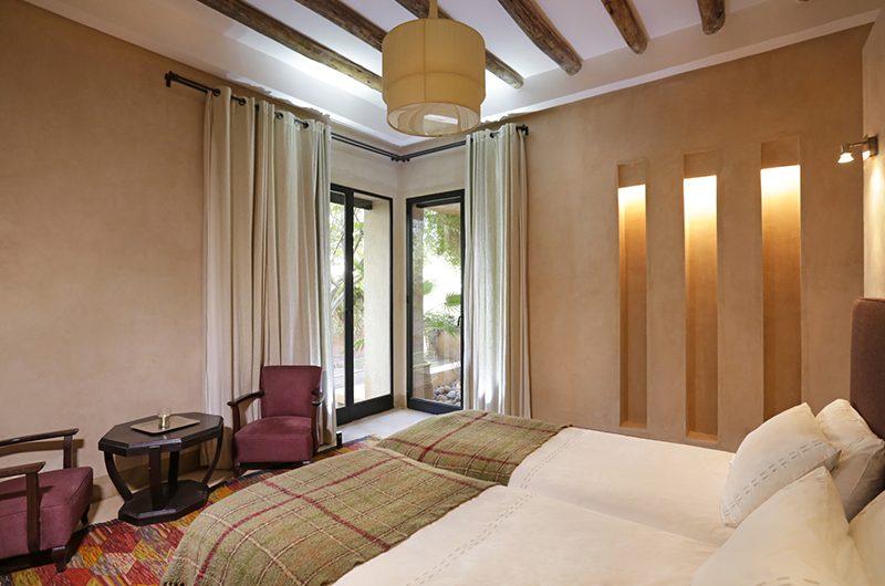 Villa Malekis Twin Bedroom | Marrakech, Morocco