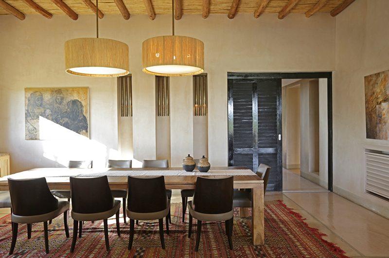 Villa Malekis Dining Area | Marrakech, Morocco