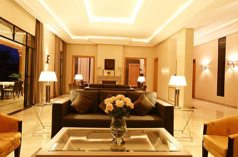 Villa Mexance Living Area | Marrakech, Morocco