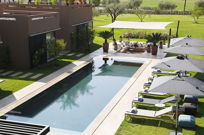 Villa Olirange Swimming Pool Area | Marrakech, Morocco