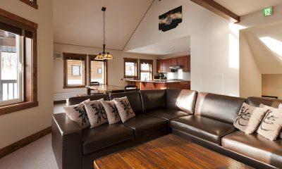 Ishi Couloir B Living Room | Hirafu, Niseko