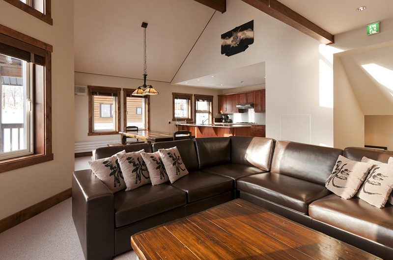Ishi Couloir B Living Room | Hirafu, Niseko