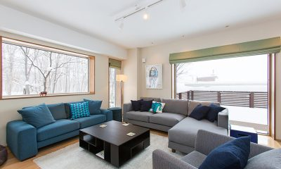 Kita Kitsune Living Room | Hirafu, Niseko