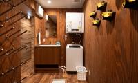 Kitsune House Laundry Area | Hirafu, Niseko