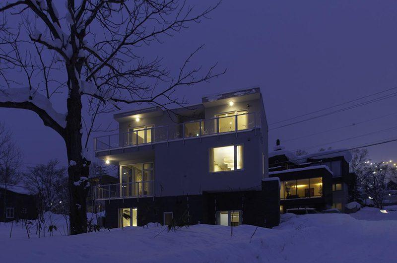 Mizunara Night View | Hirafu, Niseko