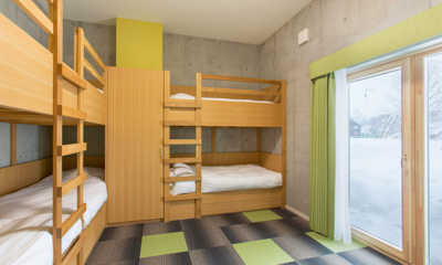 Mizunara Kids Bedroom | Hirafu, Niseko