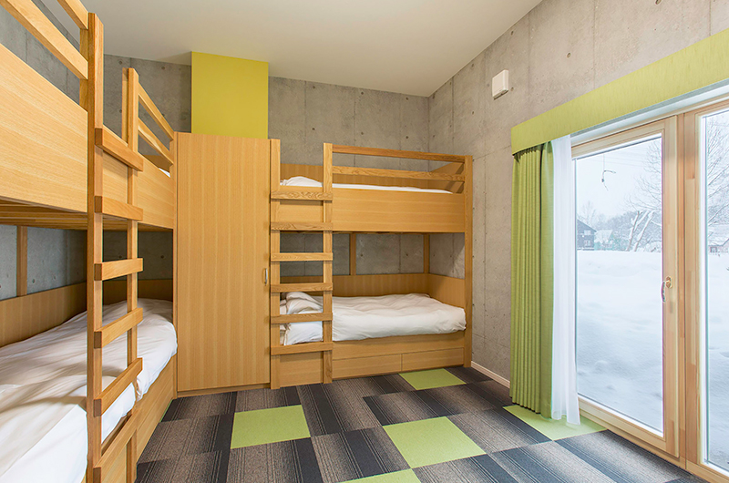 Mizunara Kids Bedroom | Hirafu, Niseko