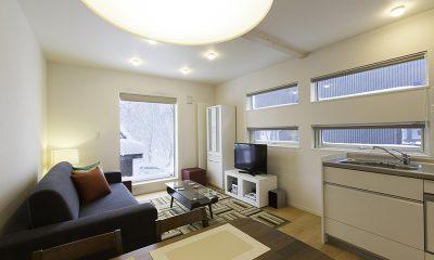 Sei Sei 2 Living Area | Hirafu, Niseko