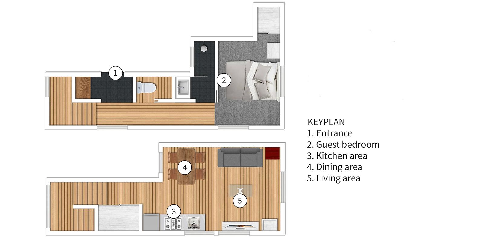 Sei Sei 2 Floor Plan | Hirafu, Niseko