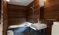 Sekka Ni 2 Bathroom | Hirafu, Niseko
