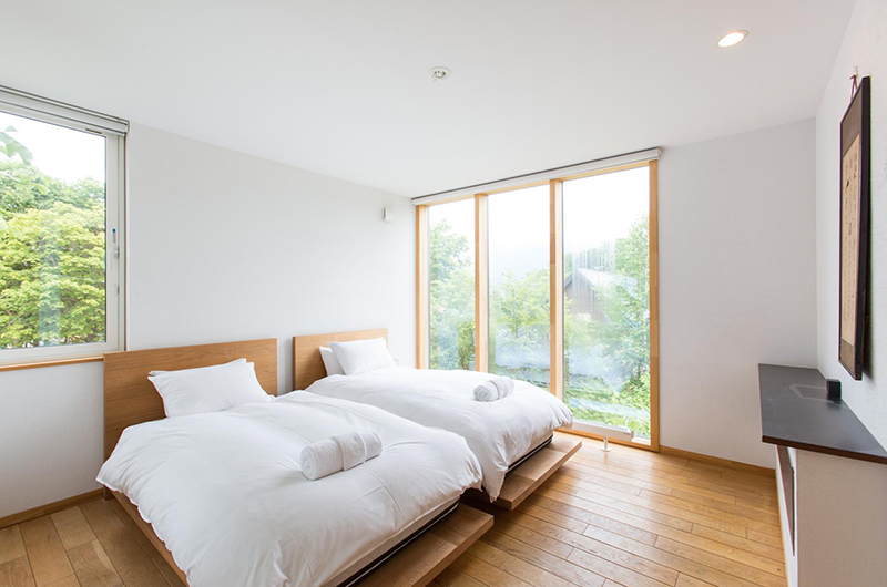 Sekka Ni 3 Twin Bedroom | Hirafu, Niseko