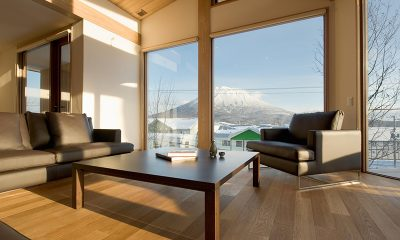 Seshu Living Area with Views | Hirafu, Niseko