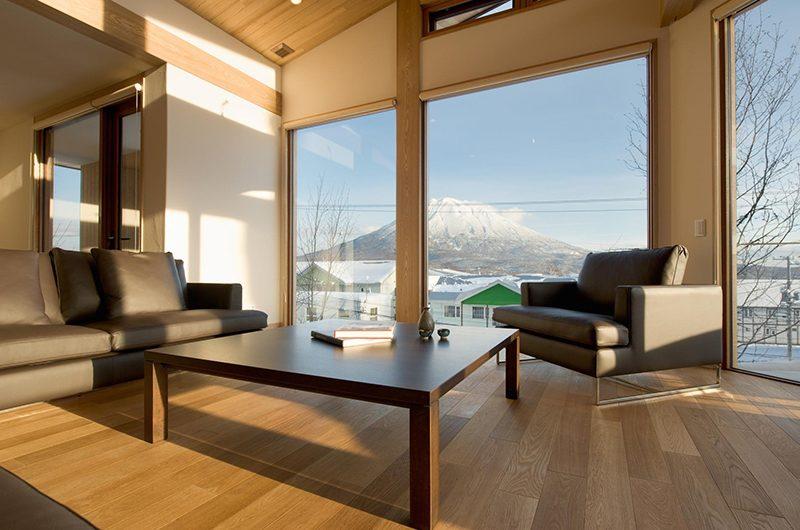 Seshu Living Area with Views   Hirafu, Niseko
