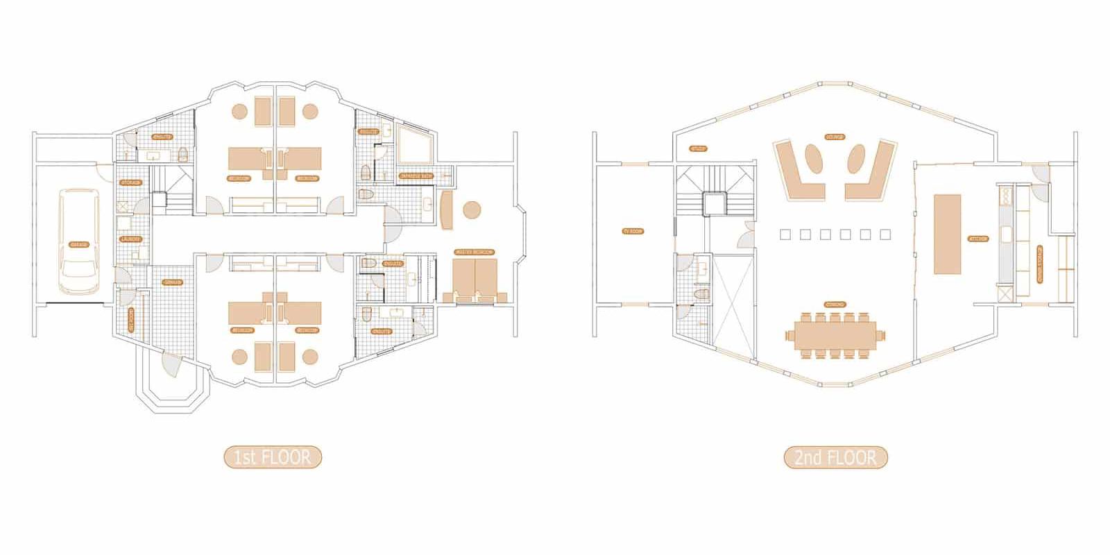 Shiroyama Floor Plan | Hirafu, Niseko
