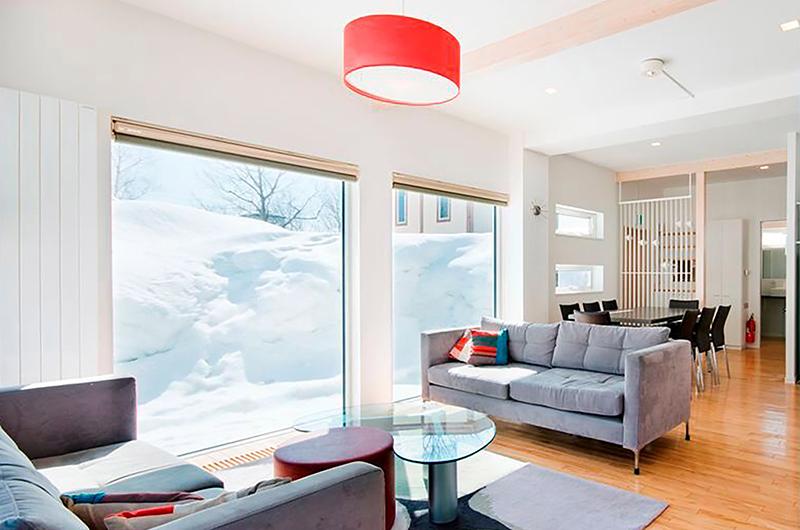 Yamabiko Living Room | Hirafu, Niseko
