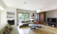 Yuuki Toride Living Room | Hirafu, Niseko