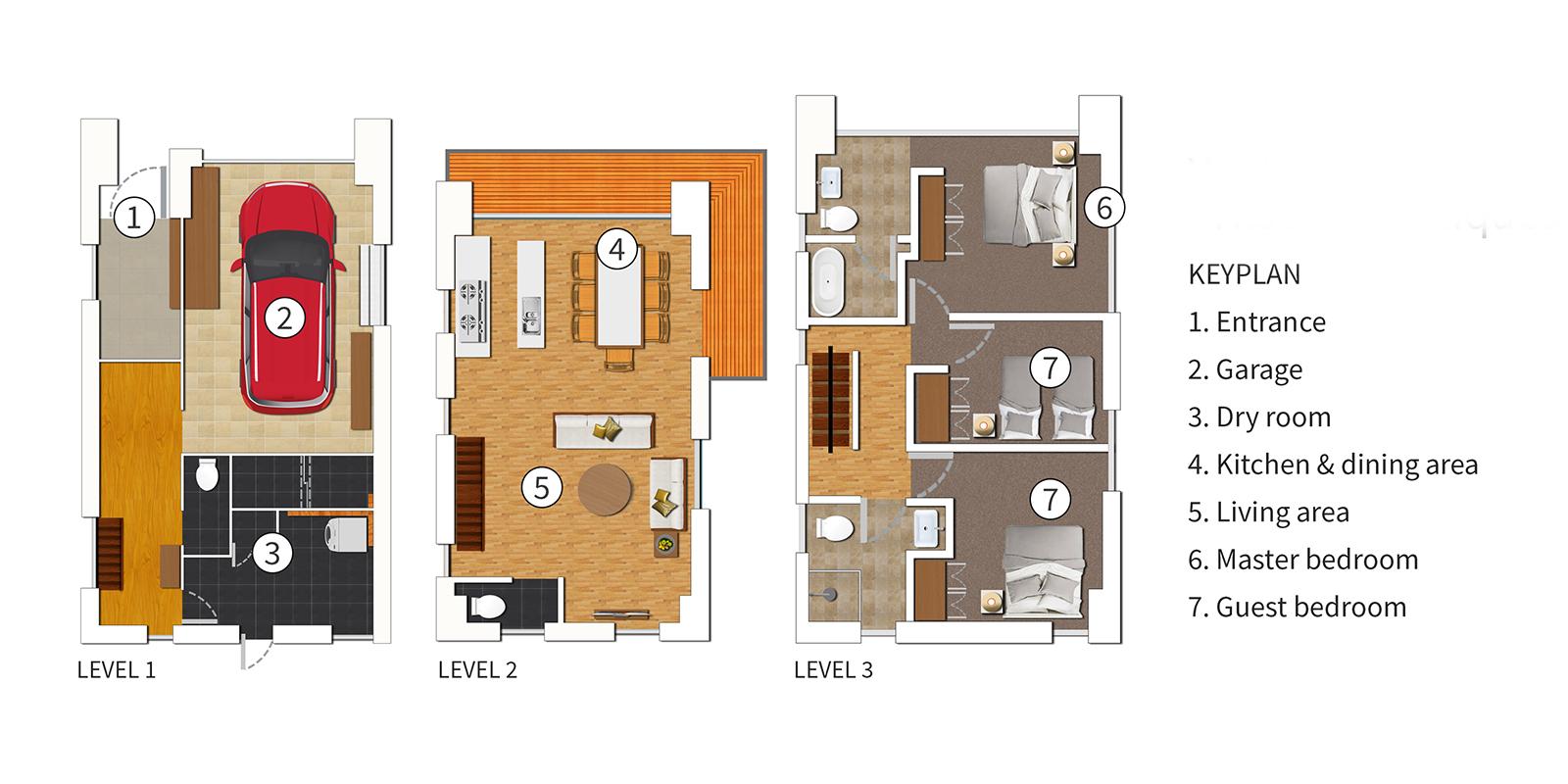 Yuuki Toride Floor Plan | Hirafu, Niseko