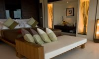 Villa Yaringa Master Bedroom with Seating | Natai, Phang Nga