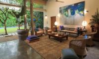 Saffron & Blue Open Plan Living Area | Kosgoda, Sri Lanka