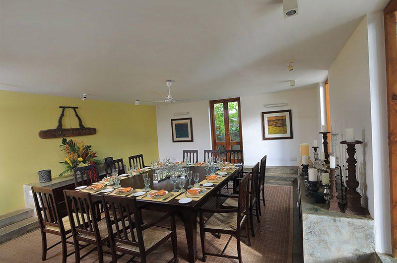 Saffron & Blue Dining Area | Kosgoda, Sri Lanka